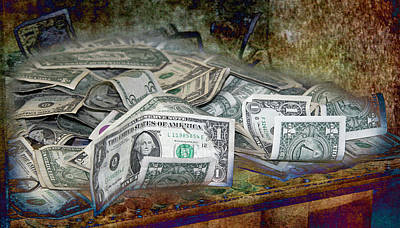 Photograph - The Color Of The Money by Gunter Nezhoda