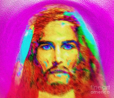 The Colorful Savior Art Print