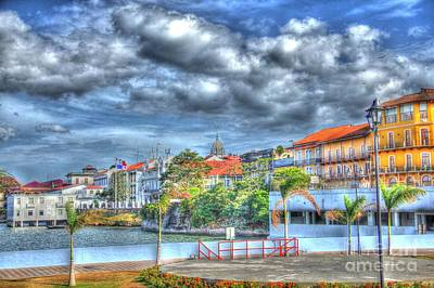 The Colors Of Casco Viejo Art Print