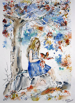 Painting - The Colors Of Innocence by Mona Mansour Jandali