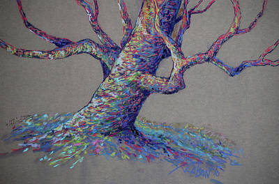 Tree Wall Art - Painting - The Colors Of Life by Billie Colson