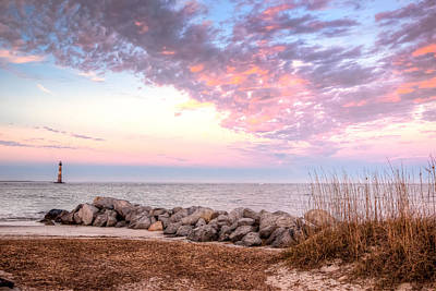 Photograph - The Colors Of Morris Island by Walt  Baker