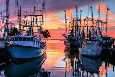 The Colors Of Pensacola Bay Art Print by JC Findley