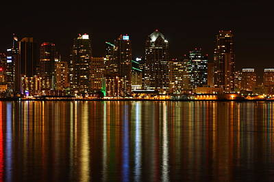 Art Print featuring the photograph The Colors Of San Diego by Nathan Rupert