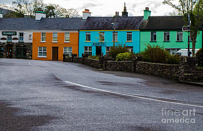 Photograph - The Colors Of Sneem 2 by Mary Carol Story