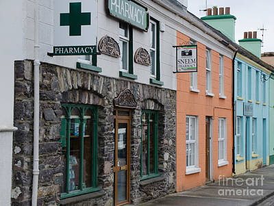 The Colors Of Sneem Art Print