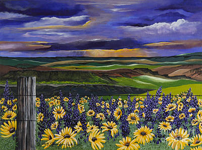 Painting - The Colors Of The Plateau by Jennifer Lake