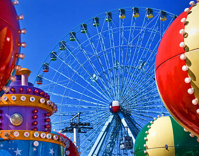 Photograph - The Colors Of The State Fair Of Texas by David and Carol Kelly