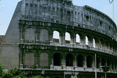 Photograph - The Colosseum by Donna Walsh