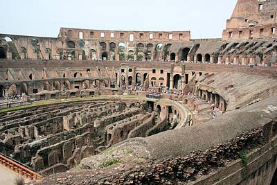 Photograph - The Colosseum by Gordon Elwell
