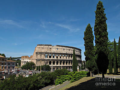 The Colosseum In Rome Art Print by Kiril Stanchev