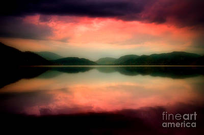 Skaha Lake Photograph - The Colours Within by Tara Turner