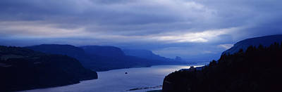 The Columbia River And Gorge Art Print by Panoramic Images
