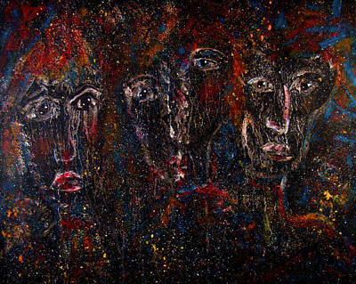 Painting - The Committee by Natalie Holland