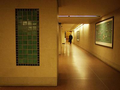 Photograph - The Commuter by Cornelis Verwaal
