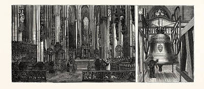 The Completion Of The Cologne Cathedral Art Print