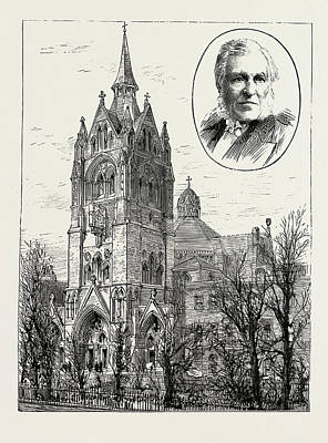 The Completion Of Union Chapel, Islington Art Print