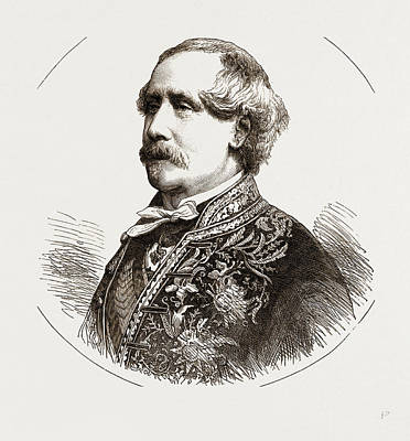 The Comte De Jarnac, French Ambassador To Great Britain Art Print