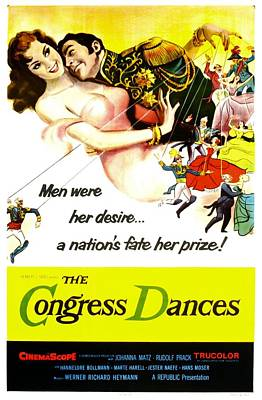 1955 Movies Photograph - The Congress Dances, Aka Congress by Everett