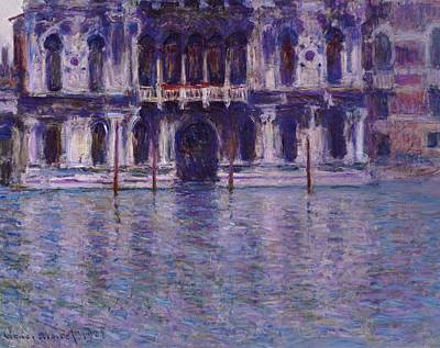 Italian Landscapes Painting - The Contarini Palace by Claude Monet