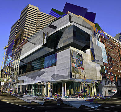 Photograph - The Contemporary Arts Center by Scott Meyer