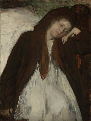 Convalescent Painting - The Convalescent Edgar Degas, French by Litz Collection