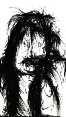 Convict Digital Art - The Convict by Kim Peto