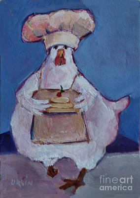 Painting - The Cook by Diane Ursin