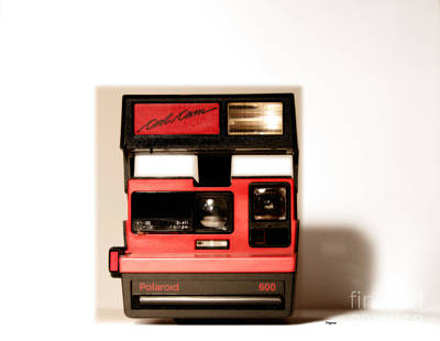 Polaroid Photograph - The Cool Cam by Steven Digman