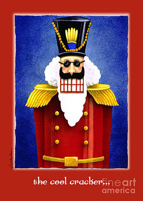 Nutcrackers Painting - The Cool Cracker... by Will Bullas