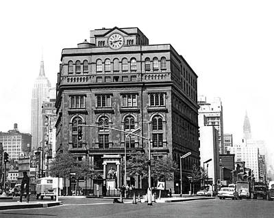 Photograph - The Cooper Union Building by Underwood & Underwood