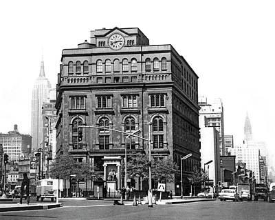 The Cooper Union Building Art Print by Underwood & Underwood