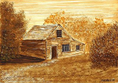 The Cooper's House Art Print by Dan Haley