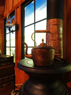Photograph - The Copper Kettle by Jacqueline  DiAnne Wasson