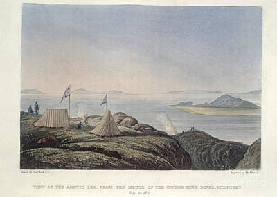 The Copper Mine River Art Print by British Library