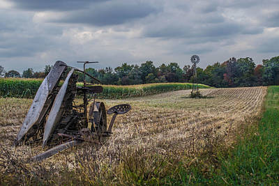 The Corn Picker Art Print by Anthony Thomas