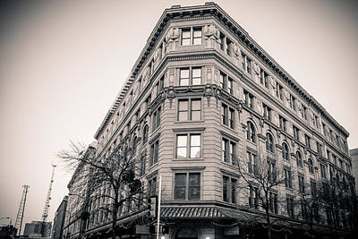 Photograph - The Corner Building Downtown by Melinda Ledsome