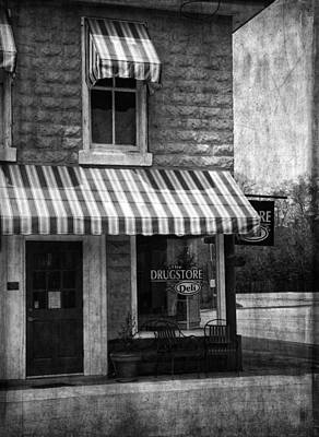The Corner Deli Art Print by Kim Hojnacki