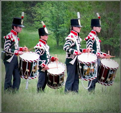 Brittish Photograph - The Corps Of Drums Of  The Royal Anglican Regiment  2 by Danielle  Parent