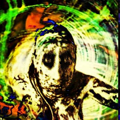 Wizard Photograph - The Corpse Clown by Urbane Alien