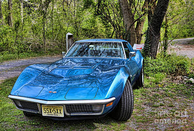 Photograph - The Corvette Stingray  by Lee Dos Santos