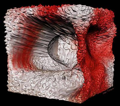 Rhythm And Blues Digital Art - The Cosmic Bird Cube W 13 by Sir Josef - Social Critic -  Maha Art