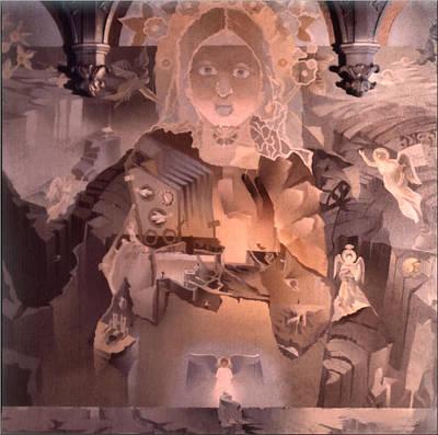 The Cosmic Christ 1976 Art Print by Glenn Bautista