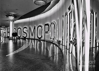 Photograph - The Cosmopolitan Hotel Las Vegas By Diana Sainz by Diana Raquel Sainz