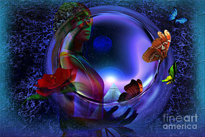 The Cosmos Art Print by Shadowlea Is