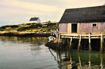 Photograph - The Cottage by Diana Angstadt
