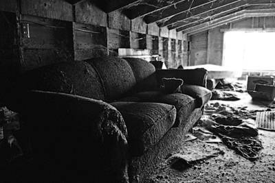Photograph - The Couch by Holly Blunkall