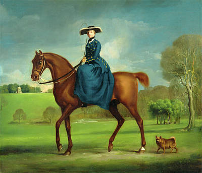 Charlton Painting - The Countess Of Coningsby In The Costume Of The Charlton by Litz Collection