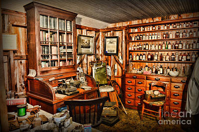The Country Doctor Art Print by Paul Ward