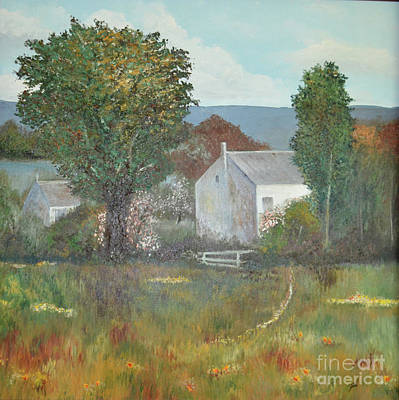 Painting - The Country House by Suzette Kallen